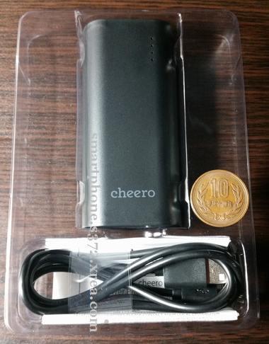 思たより小さいモバイルバッテリー