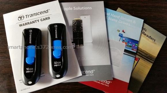 TS16GJF790KPE(16GB)とTS32GJF790KPE(32GB)